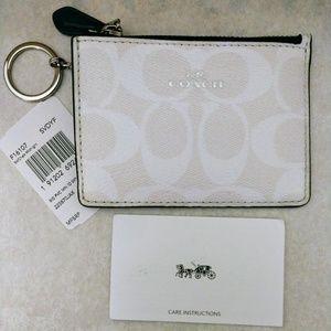 Coach Mini ID Keychain Case